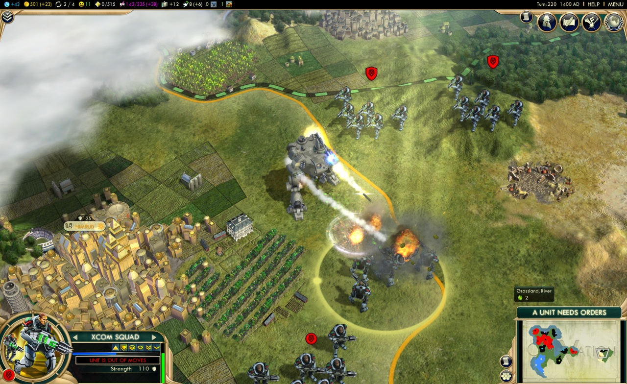 Sid Meier's Civilization V скриншоты