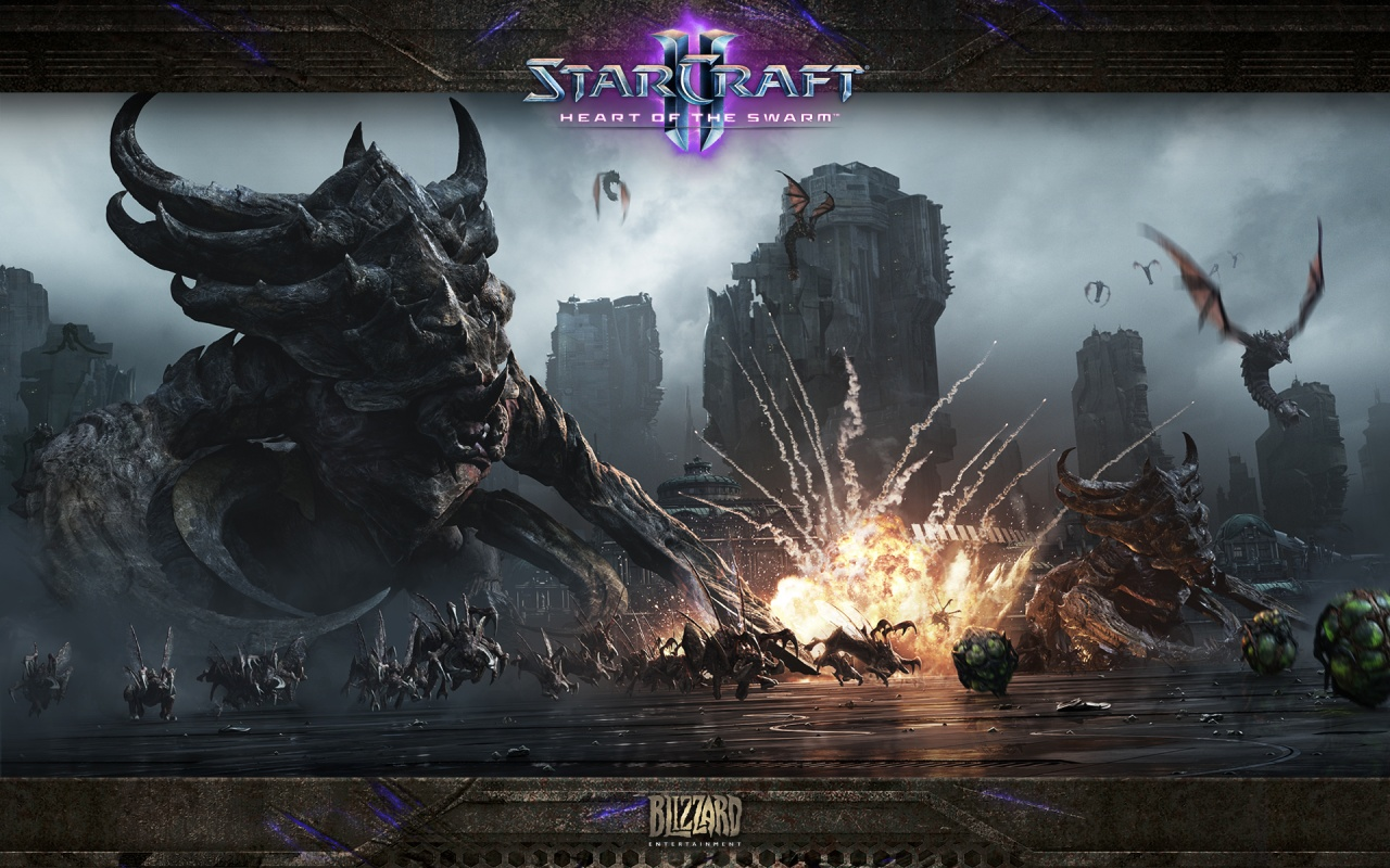 StarCraft 2: Heart of the Swarm скриншоты