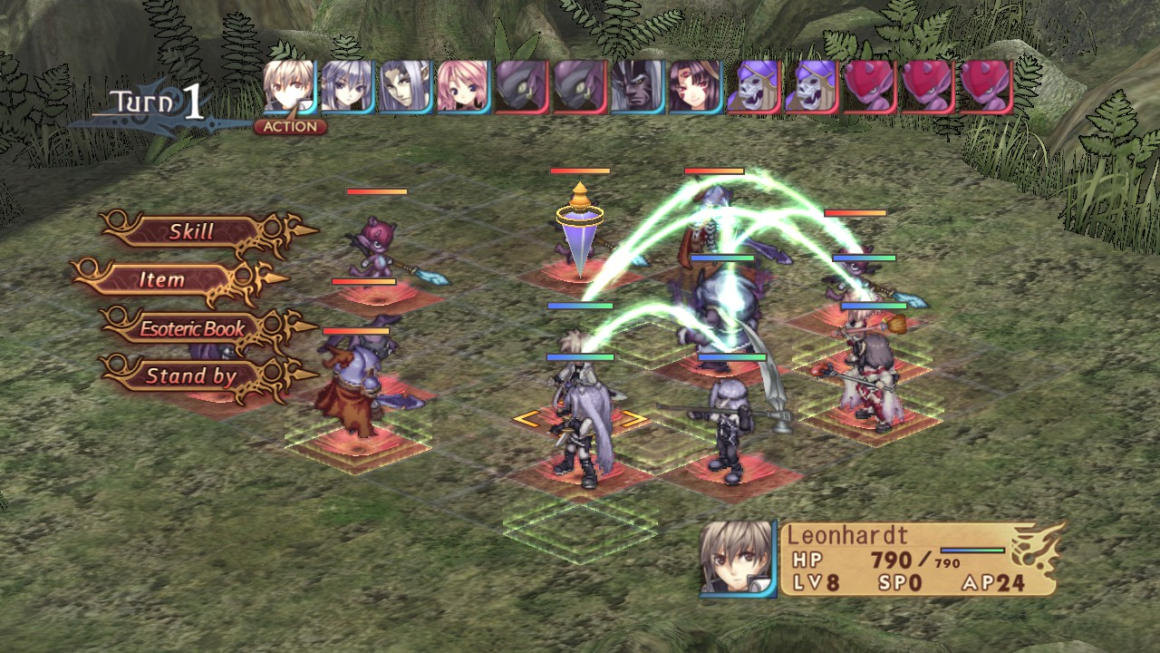 Agarest: Generations of War скриншоты