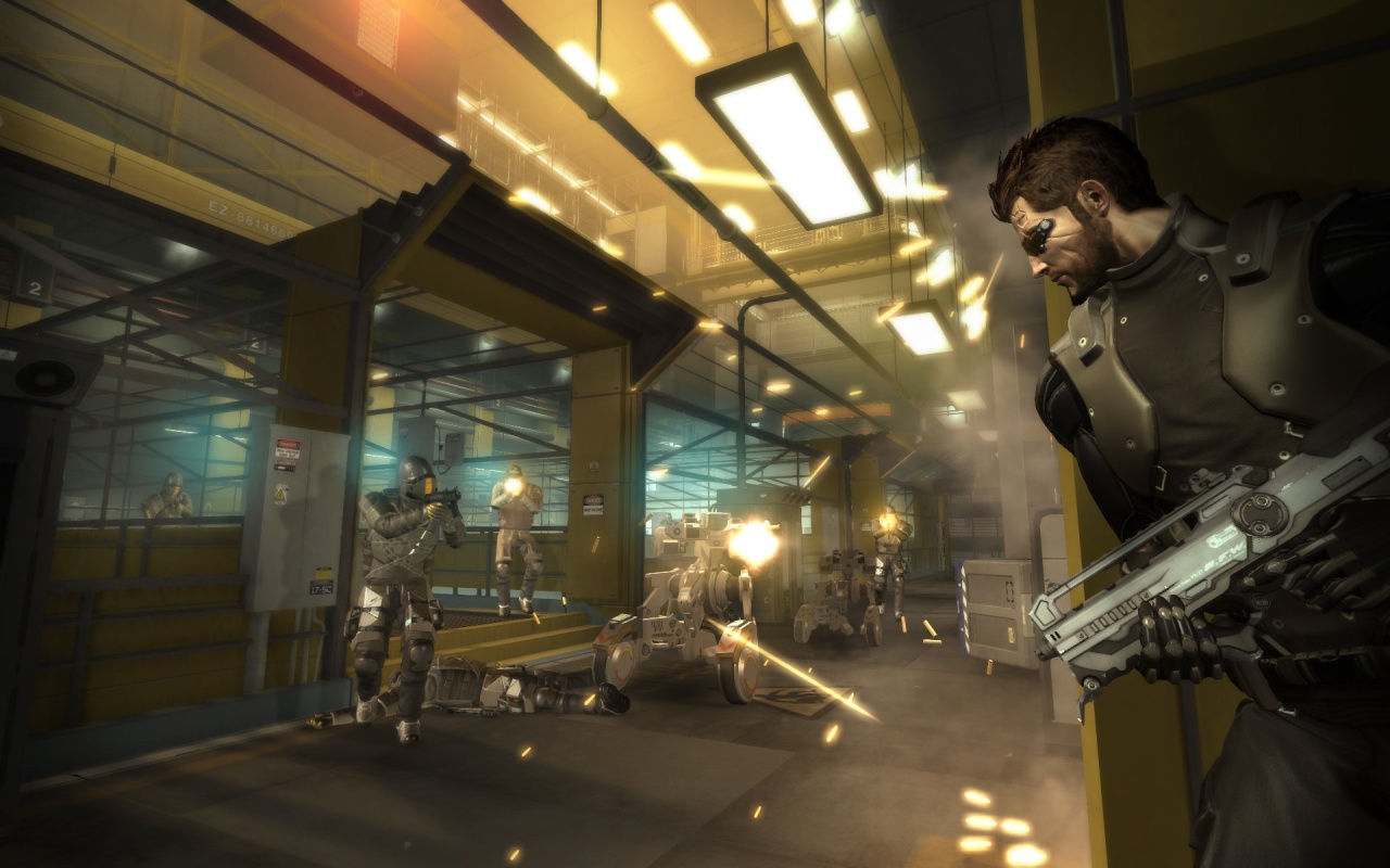 Deus Ex: Human Revolution Director's Cut скриншоты