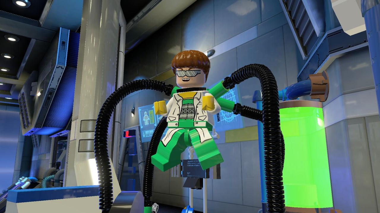 LEGO MARVEL Super Heroes скриншоты