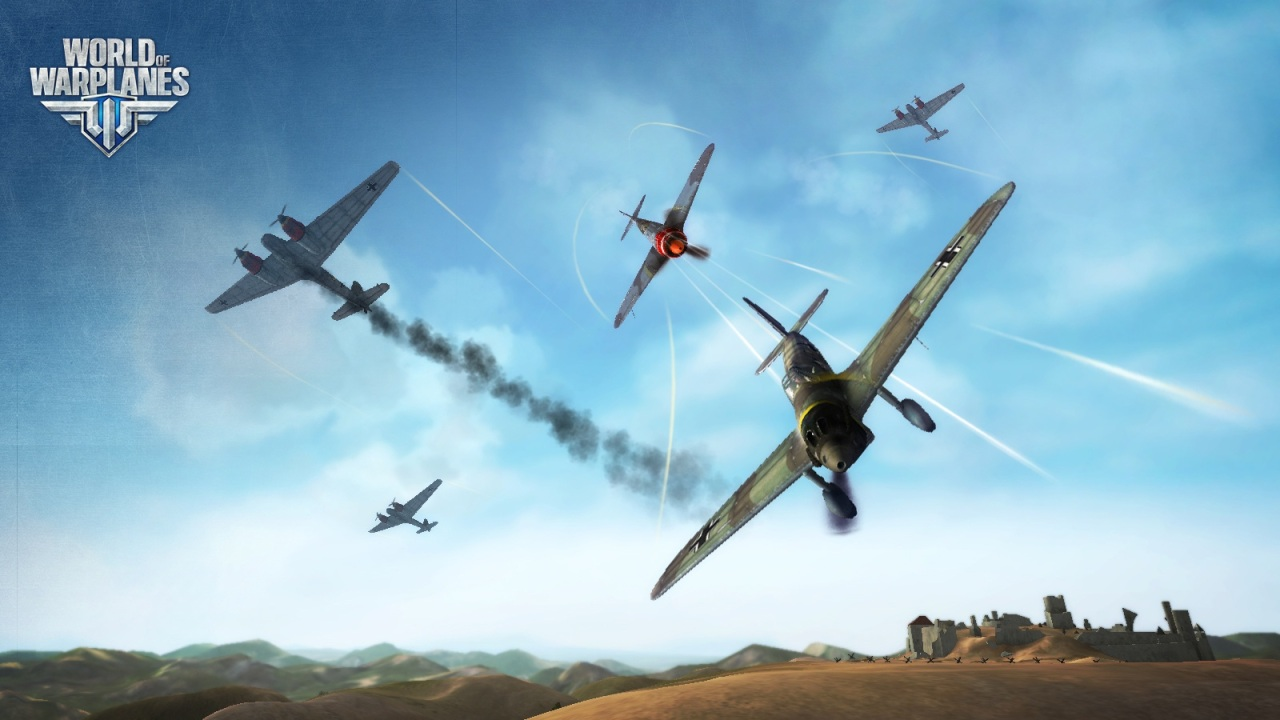 World of Warplanes скриншоты