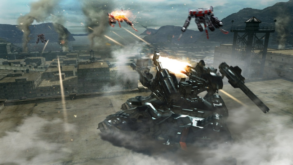 Armored Core: Verdict Day скриншоты