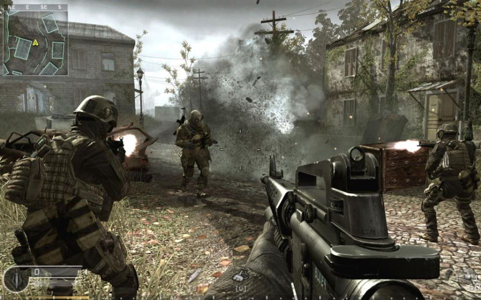 Call of Duty 4: Modern Warfare обзор