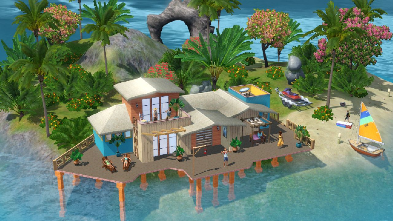 The Sims 3: Island Paradise скриншоты